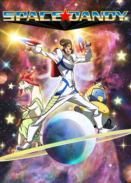 Space Dandy sur Netflix UK