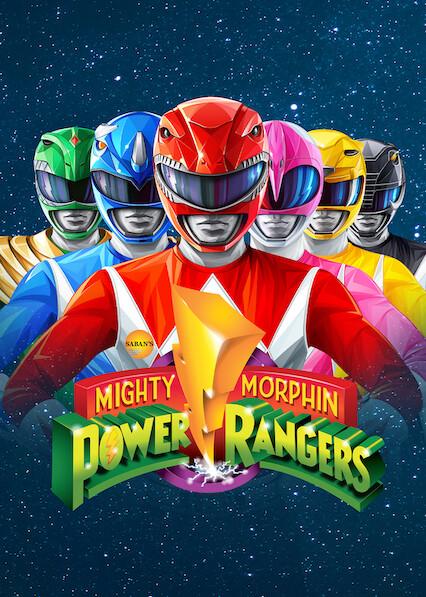 Mighty Morphin Power Rangers on Netflix UK