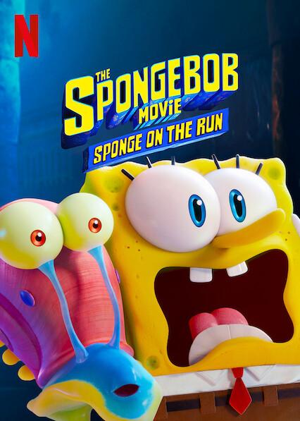 The SpongeBob Movie: Sponge on the Run sur Netflix UK