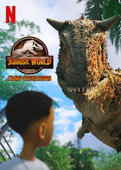 Jurassic World Camp Cretaceous on Netflix UK