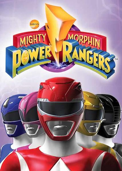Mighty Morphin Power Rangers on Netflix