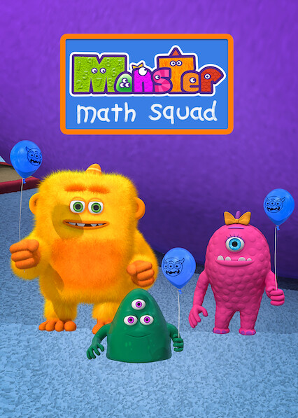 Monster Math Squad on Netflix UK
