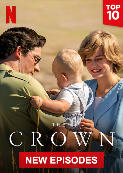 The Crown on Netflix UK